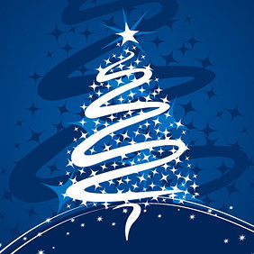 Christmas Tree By Dryicons - vector gratuit #221901