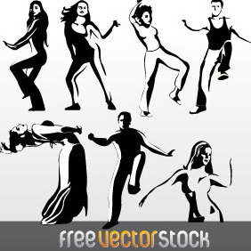 Dance Collection Vector - vector #221941 gratis