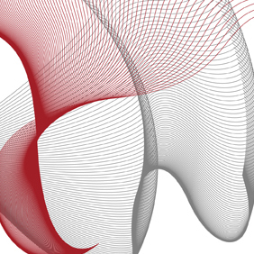 Flowing Curves Vector & Brush - Free vector #221961
