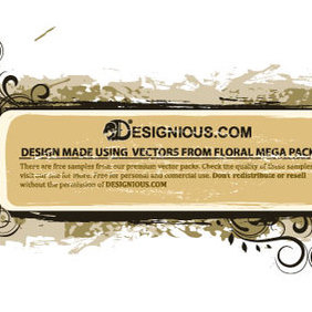 Floral Mega Pack 4 Sample - Free vector #222161