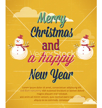 Free happy new year vector - vector gratuit #222651