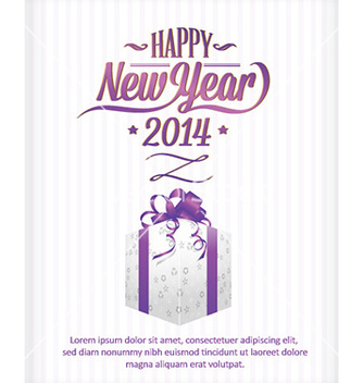 Free happy new year vector - vector #222811 gratis