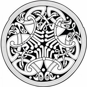 Celtic Ornament - Free vector #222821