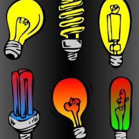 Light Bulb - Free vector #223121