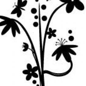 Trendy Flower Vectors - Free vector #223141