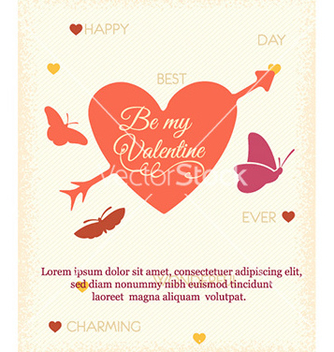 Free happy valentines day vector - Kostenloses vector #223161