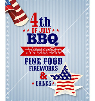 Free fourth of july vector - vector #223291 gratis