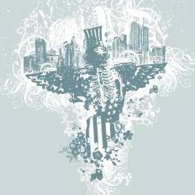 City Of Angels Vector Illustration - vector gratuit #223351