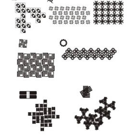 Tiles And Patterns - vector gratuit #223491