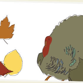 Thanksgiving Vector Art - Free vector #223751