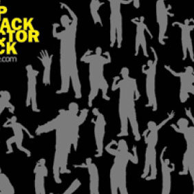 The Rap Attack Vector Pack - vector gratuit #223931