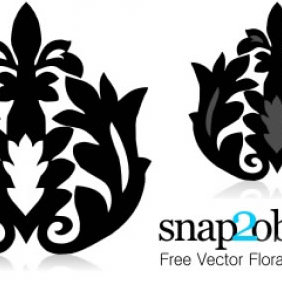 Floral Backgrounds - vector gratuit #224021