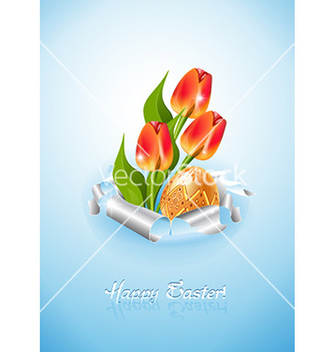 Free easter background vector - Free vector #224281
