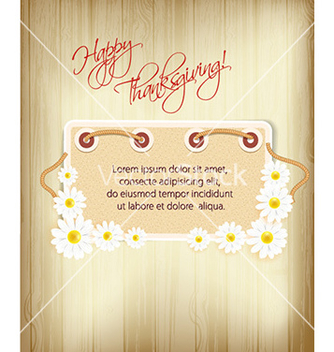 Free happy thanksgiving day with doodle frame vector - Free vector #224411
