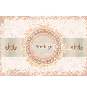 Free vintage label vector - бесплатный vector #224591