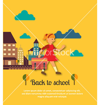 Free back to school vector - vector gratuit #224621