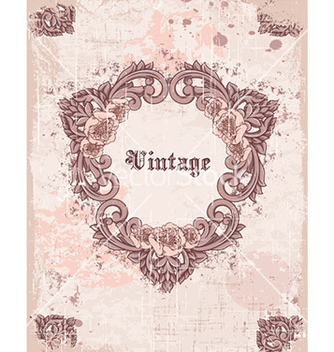 Free vintage frame vector - Free vector #224661