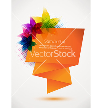 Free abstract banner vector - Free vector #224761