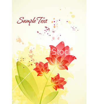 Free spring floral background vector - Free vector #224851