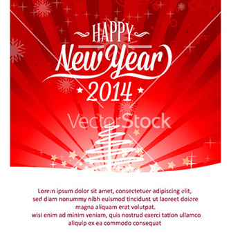 Free happy new year vector - vector #224881 gratis