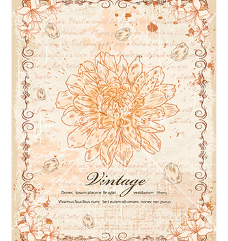 Free vintage background vector - Kostenloses vector #225041