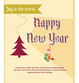 Free happy new year vector - Free vector #225101