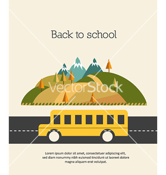 Free back to school vector - vector gratuit #225121