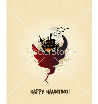 Free halloween background vector - бесплатный vector #225521