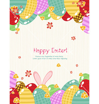 Free colorful eggs vector - Kostenloses vector #225691
