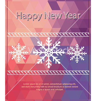 Free happy new year vector - vector #225701 gratis
