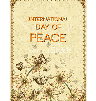 Free international day of peace vector - Kostenloses vector #225711