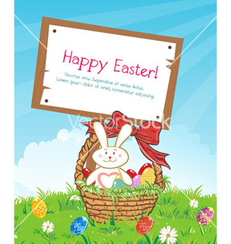 Free easter background vector - vector gratuit #225971