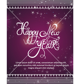Free happy new year vector - Free vector #226131