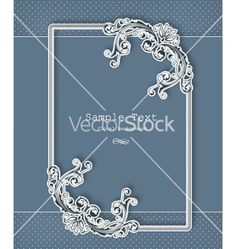 Free floral frame vector - Kostenloses vector #226201