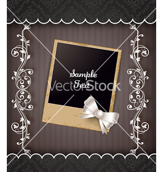 Free floral frame vector - Kostenloses vector #226381