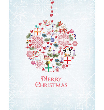 Free christmas vector - Free vector #226401