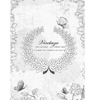 Free frame with floral vector - Kostenloses vector #226511