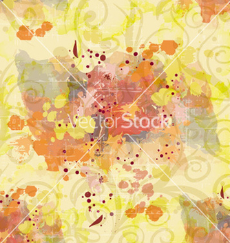 Free colorful pattern with splashes vector - vector #226651 gratis