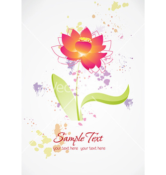 Free spring floral background vector - Free vector #226791
