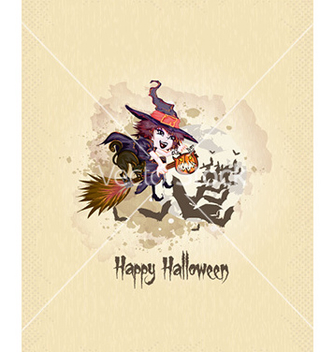 Free halloween background vector - vector gratuit #227271