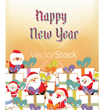 Free happy new year vector - vector gratuit #227421