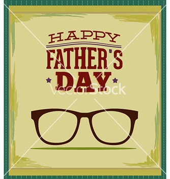 Free fathers day vector - Kostenloses vector #227511