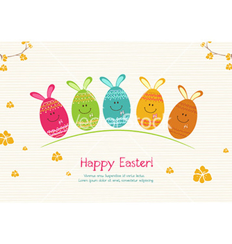 Free easter background vector - бесплатный vector #227861