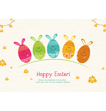 Free easter background vector - vector gratuit #227861