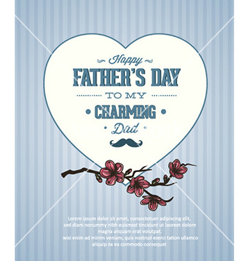 Free fathers day vector - Free vector #227891