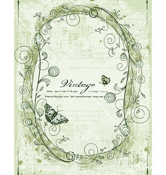 Free vintage frame vector - Free vector #227951