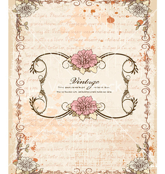 Free vintage frame vector - Free vector #228041