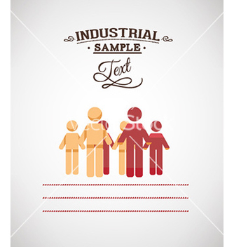 Free with people vector - vector #228111 gratis
