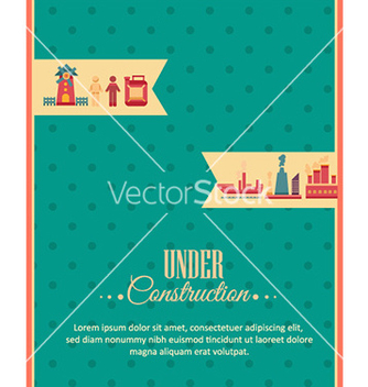 Free with industrial elements vector - Free vector #228311