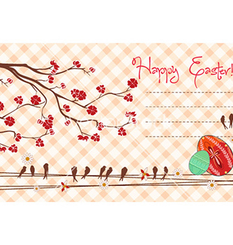 Free easter background vector - vector gratuit #228581